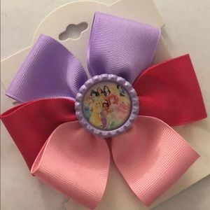 Disney princesses 👸🏼 girls hair bow
